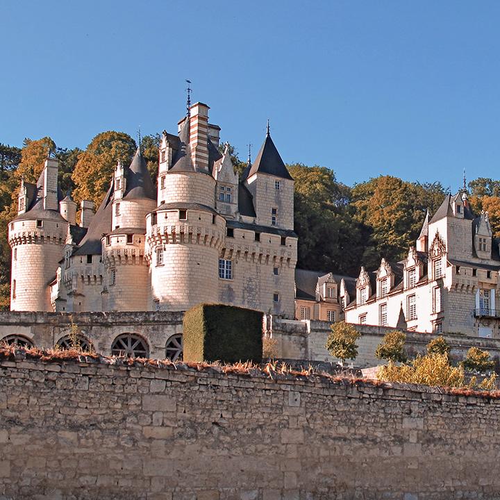 Château de Rigny-Ussé en Indre et Loire
