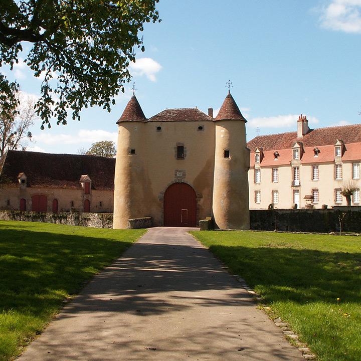 Château de Breuil Yvain dans le Berry