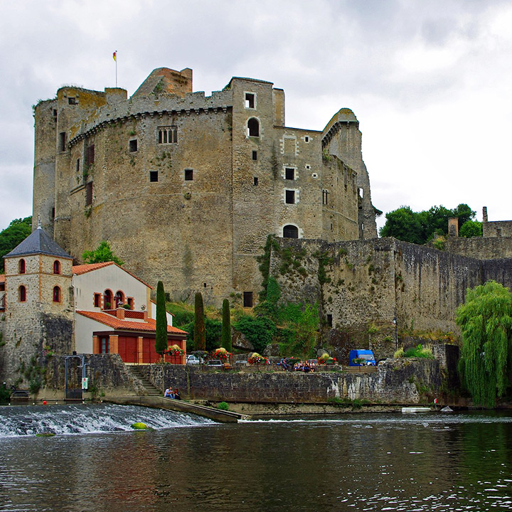 Château de Clisson en Loire Atlantique