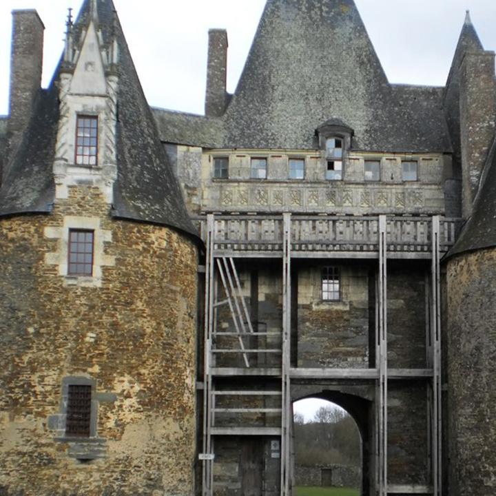 Château de la Motte Glain en Loire Atlantique