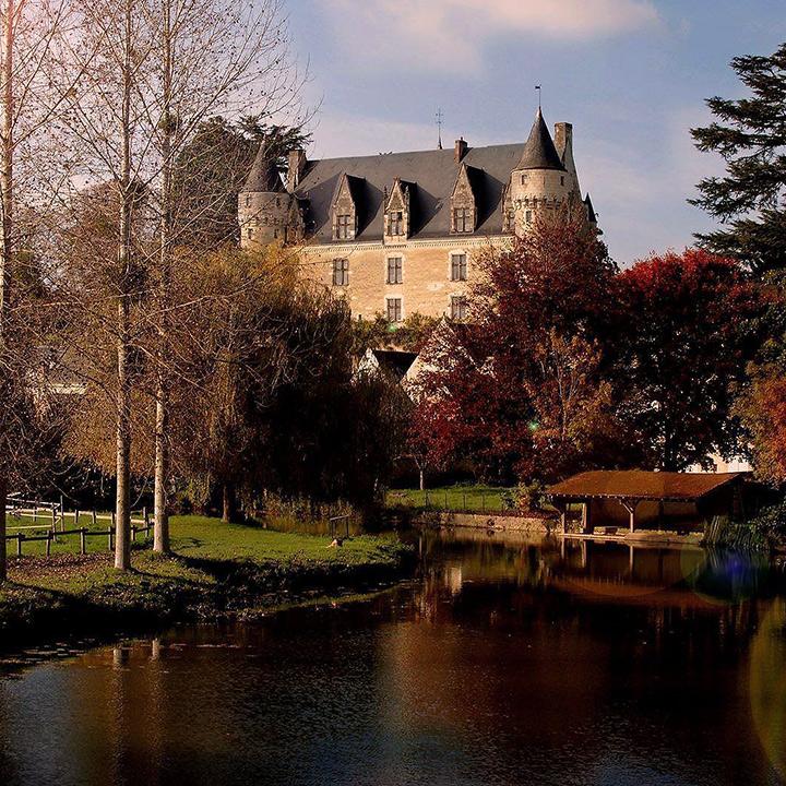 Château de Montrésor en Indre et Loire