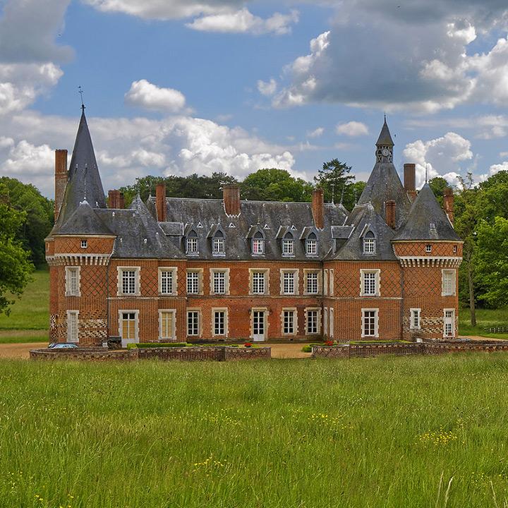 Château de Maillebois dans l'Eure et Loir