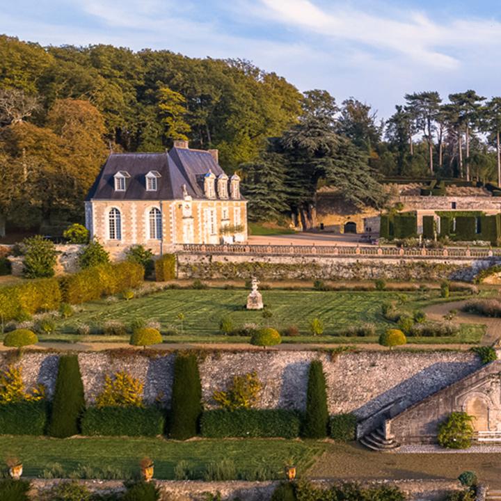 Château et jardin de Valmer en Indre et Loire