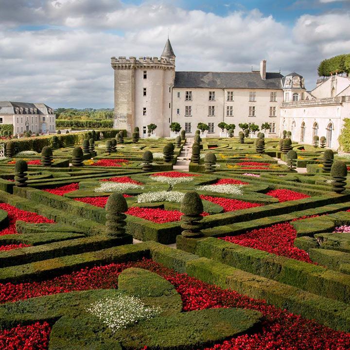 Château et jardins de Villandry en Indre et Loire