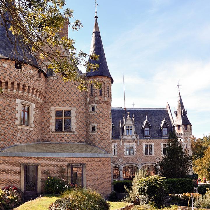 Château de Nançay dans le Berry