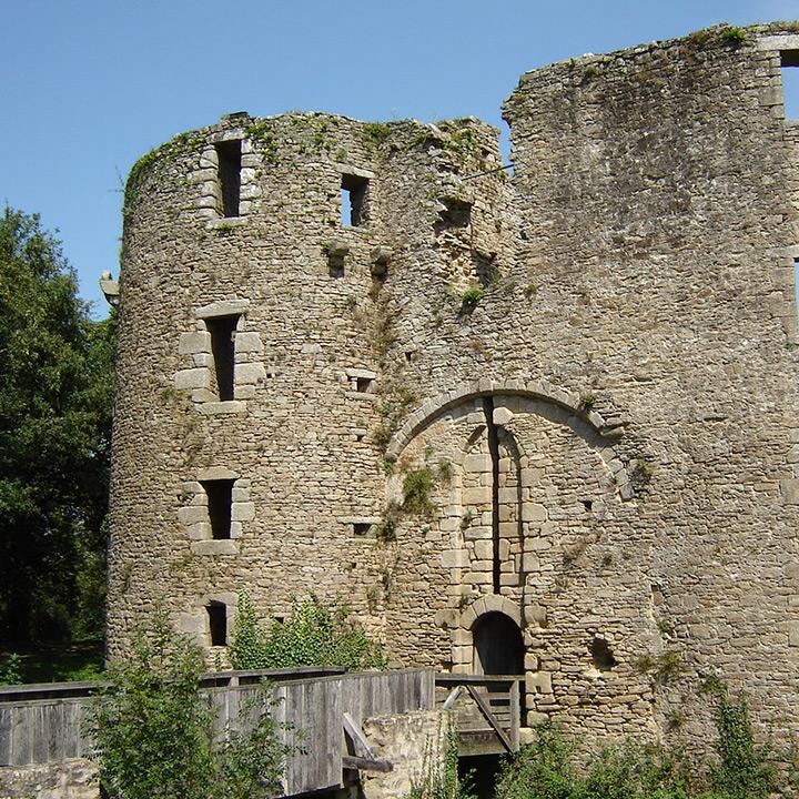 Château de Ranrouet en Loire Atlantique