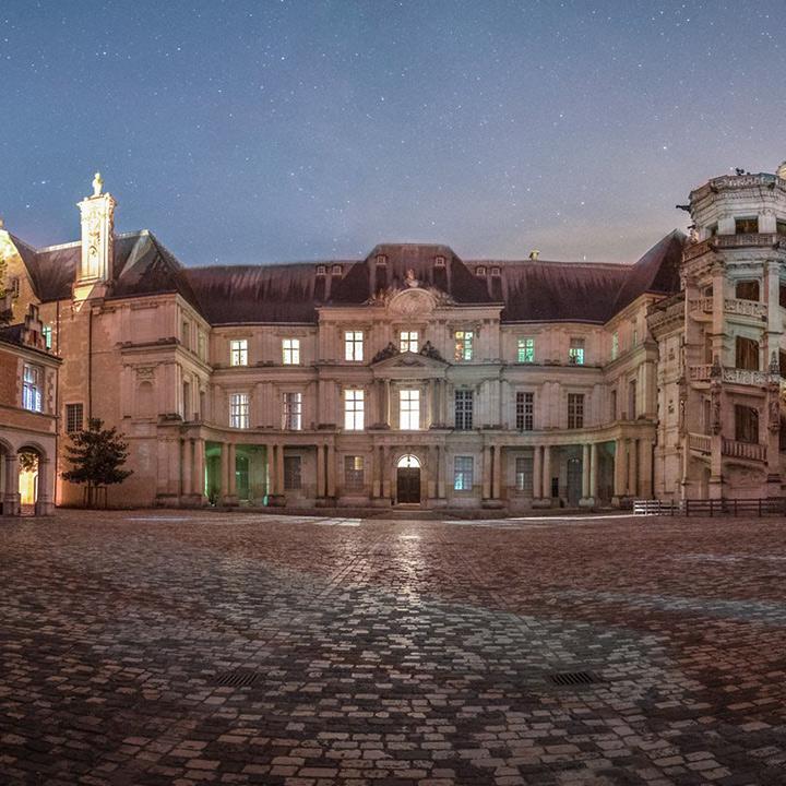 Château royal de Blois en Loir et Cher