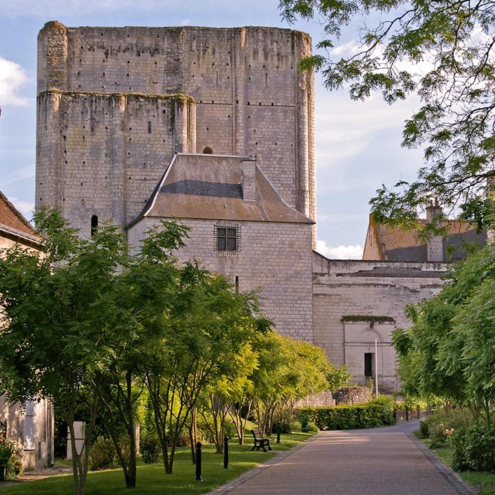 Cité royale de Loches en Indre et Loire