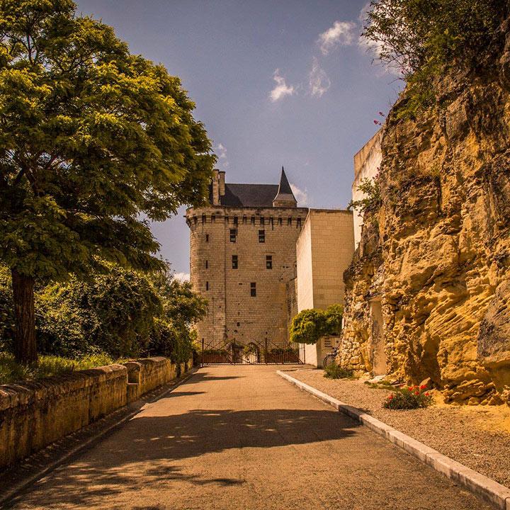 Forteresse royale de Chinon en Indre et Loire