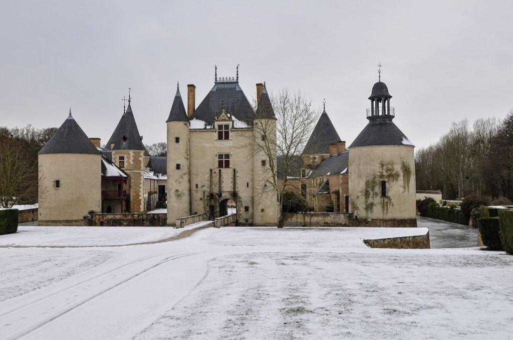 noel au château de chamerolles dans le loiret