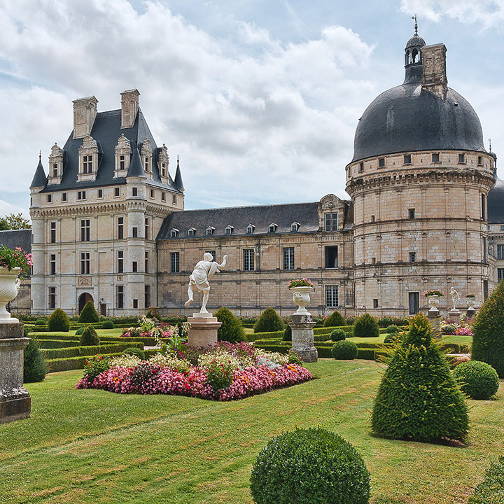 Château de Valençay dans le Berry