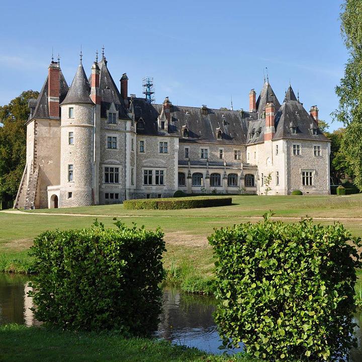 Château de la Verrerie Oizon dans le Berry