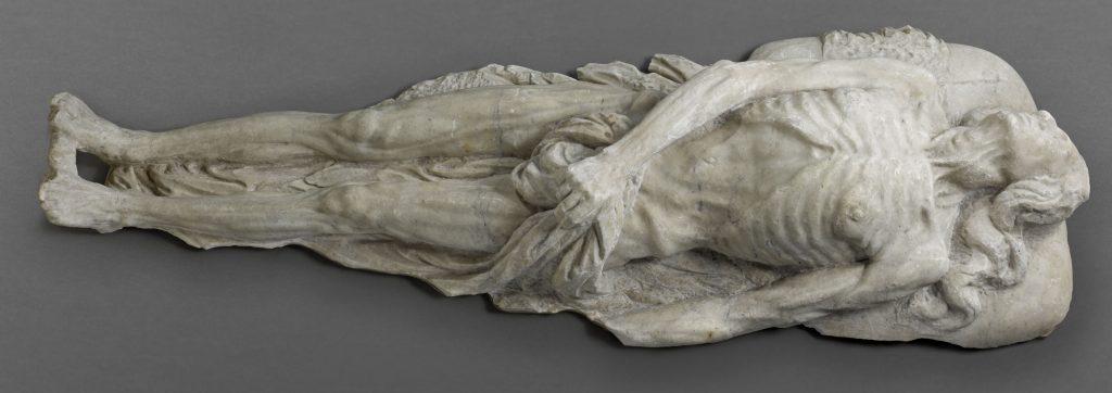 Effigie funéraire ébauchée de Catherine de Médicis