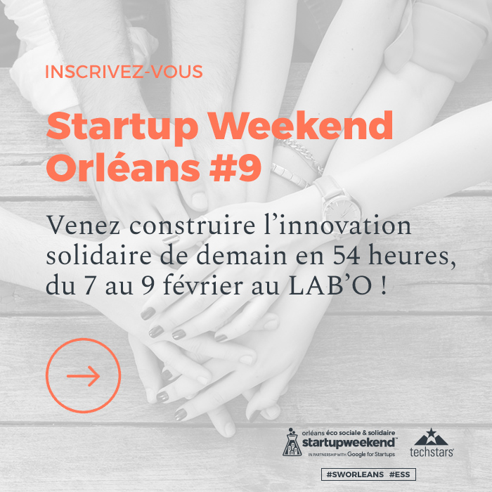Inscriptions Startup Weekend Orléans