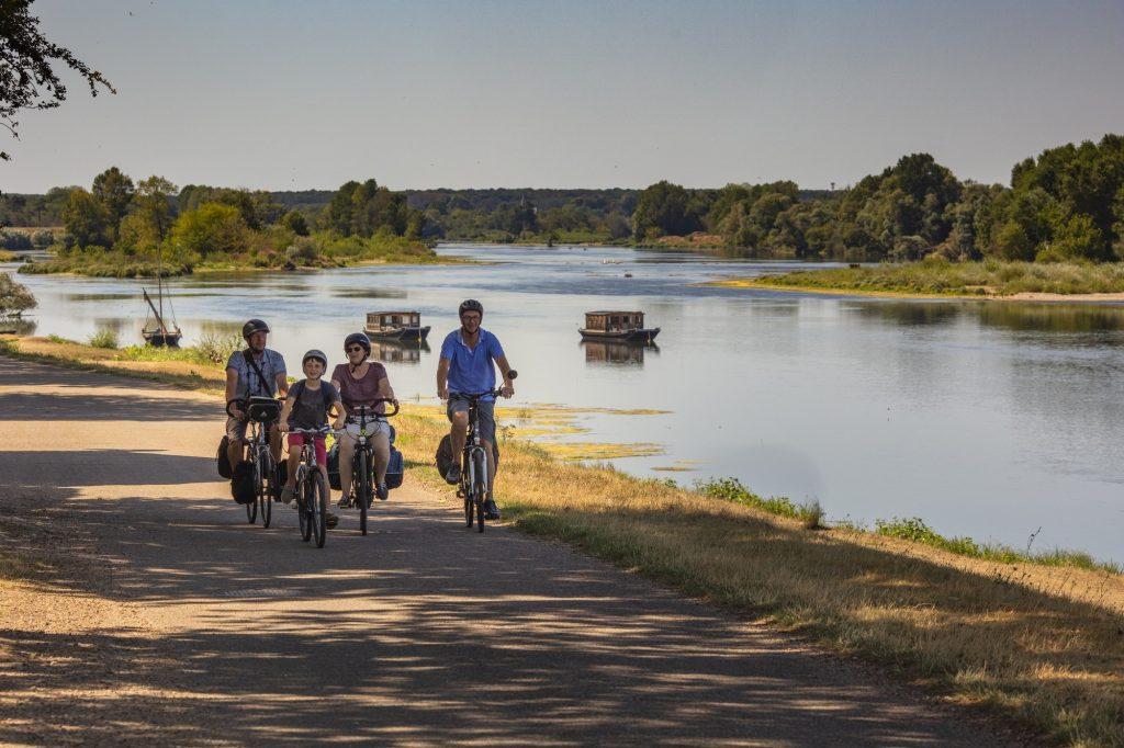 Loire a velo famille