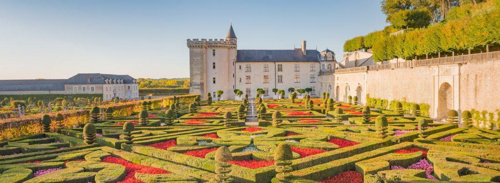 jardin des croix au château de Villandry