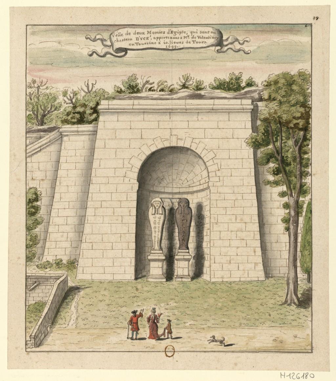 momies au château d'Ussé
