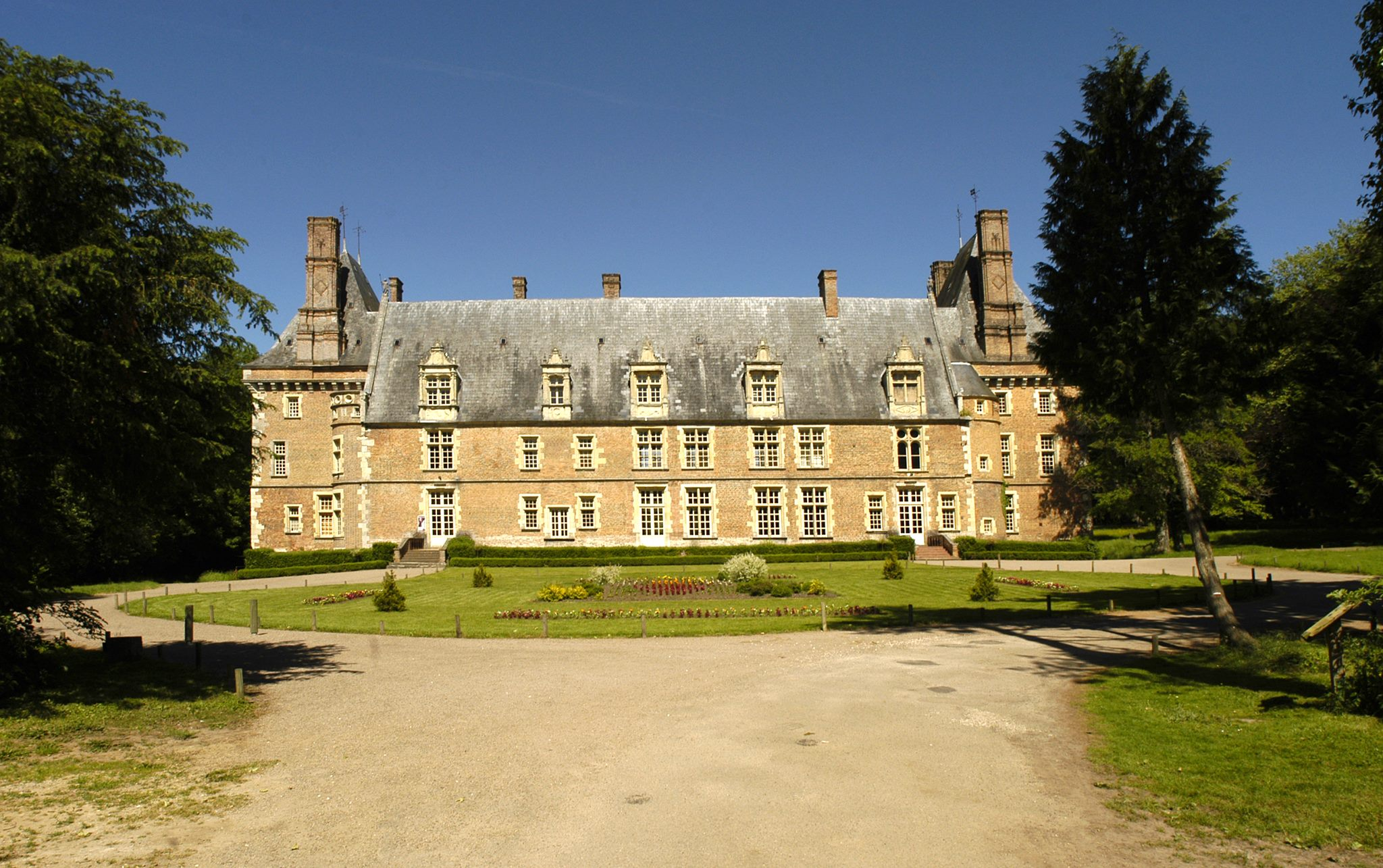 Chateau de Saint-Amand en Puisaye