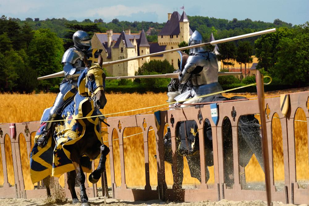Joutes équestres au Rivau