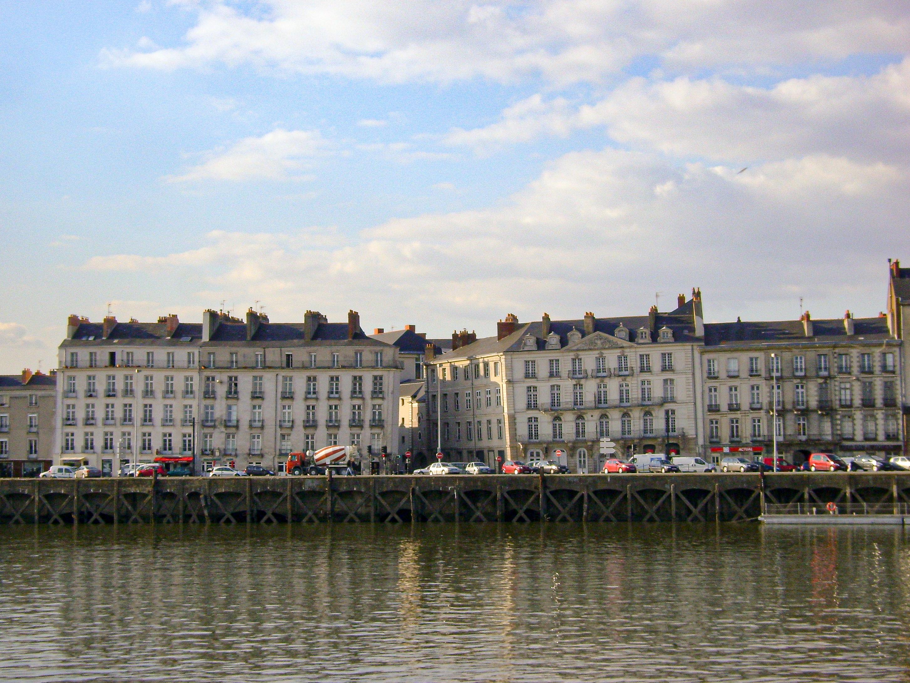 quai de la fosse à Nantes