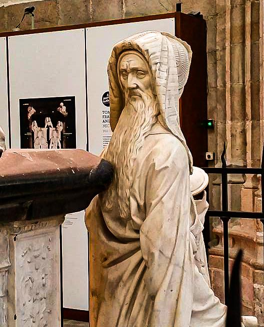 statue cathédrale de Nantes