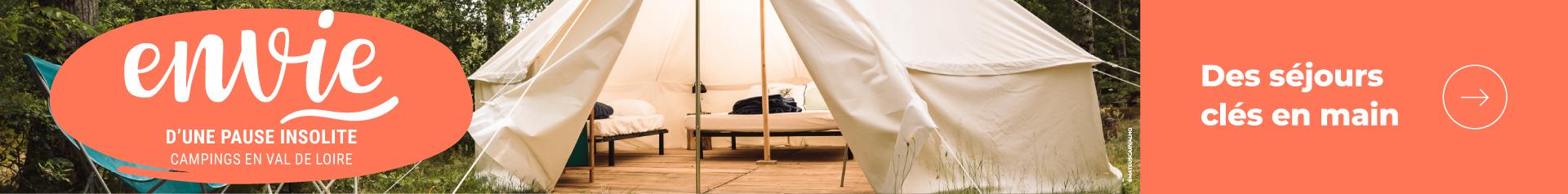 Envie de camper en région Centre-Val de Loire