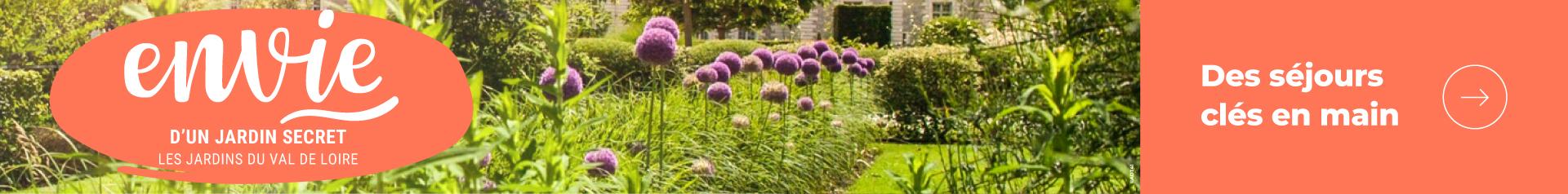 Envie d'un jardin secret en région Centre