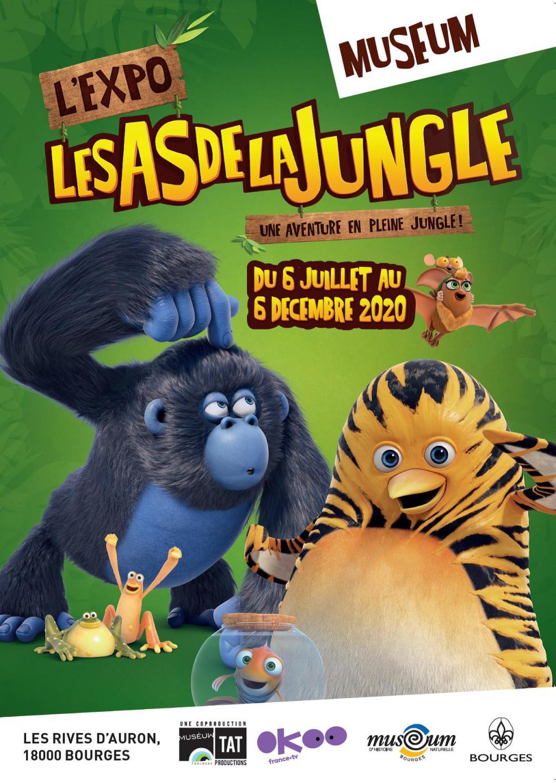 les as de la jungle expo bourges