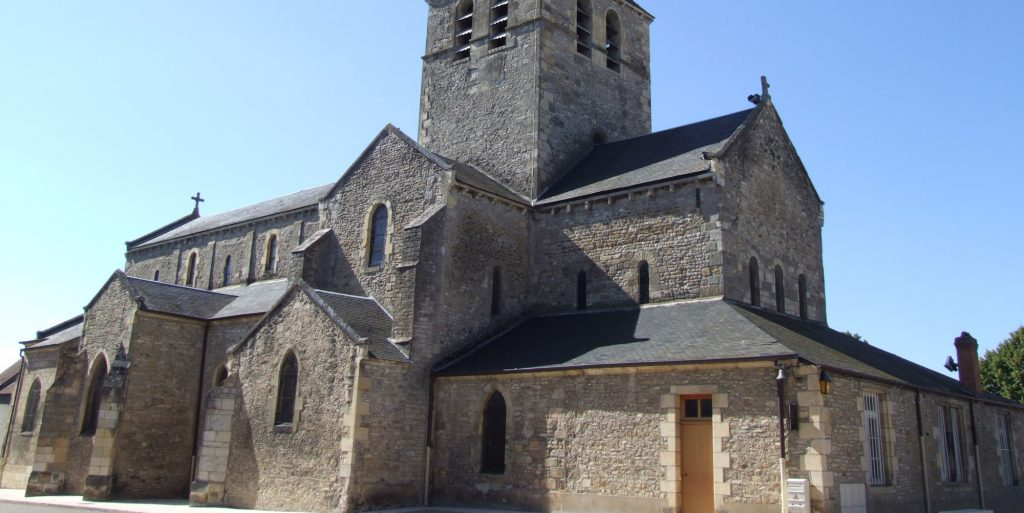 Eglise de Saint-Pierre-le-Moutier