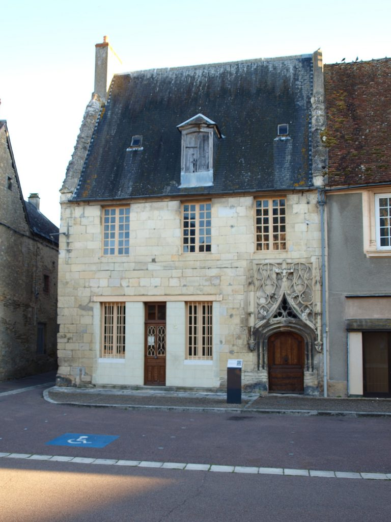 Maison du Lieutenant Criminel, Saint-Pierre-le-Moutier