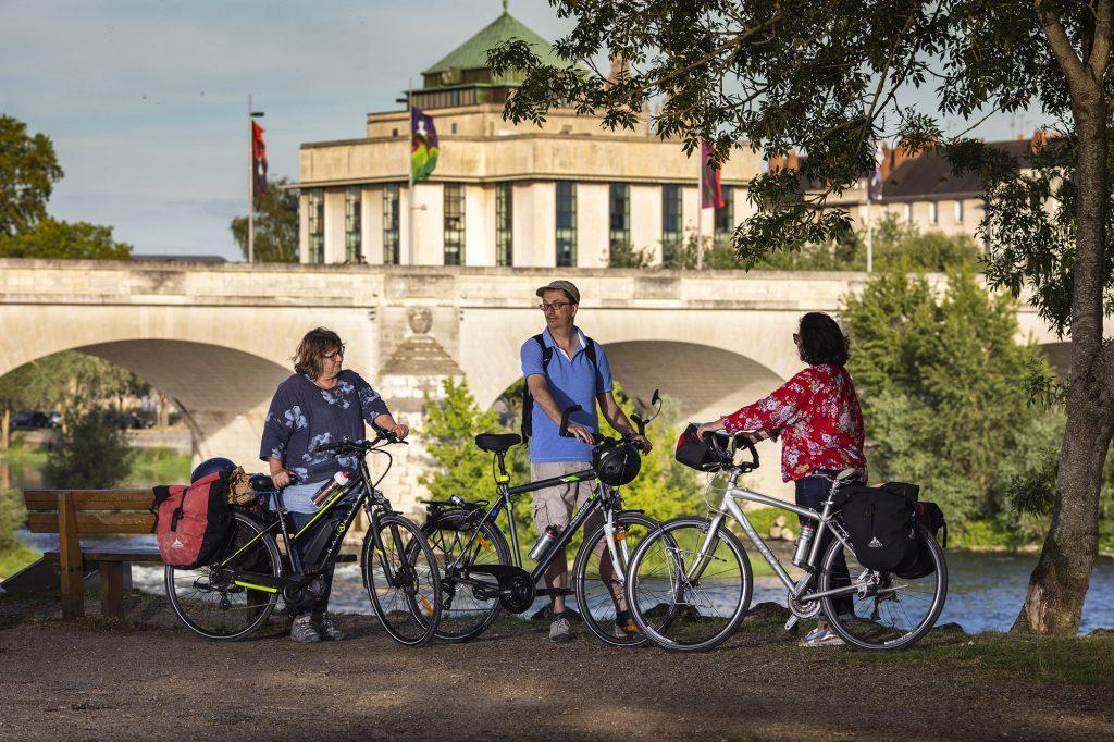 La Loire à vélo à Tours