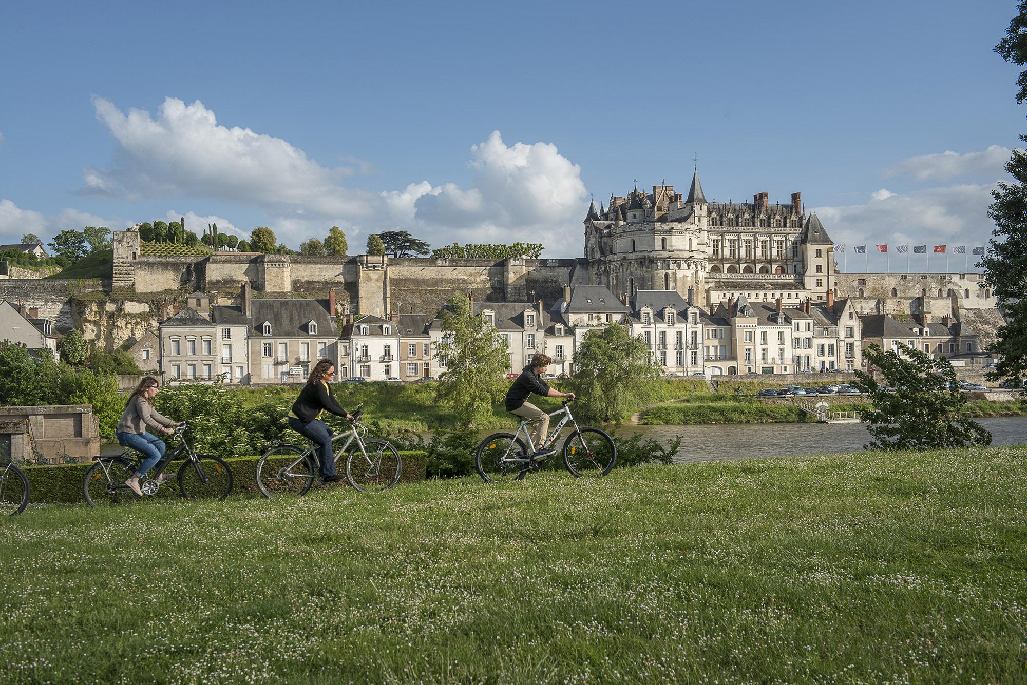 Itinéraire Loire à Vélo à Amboise