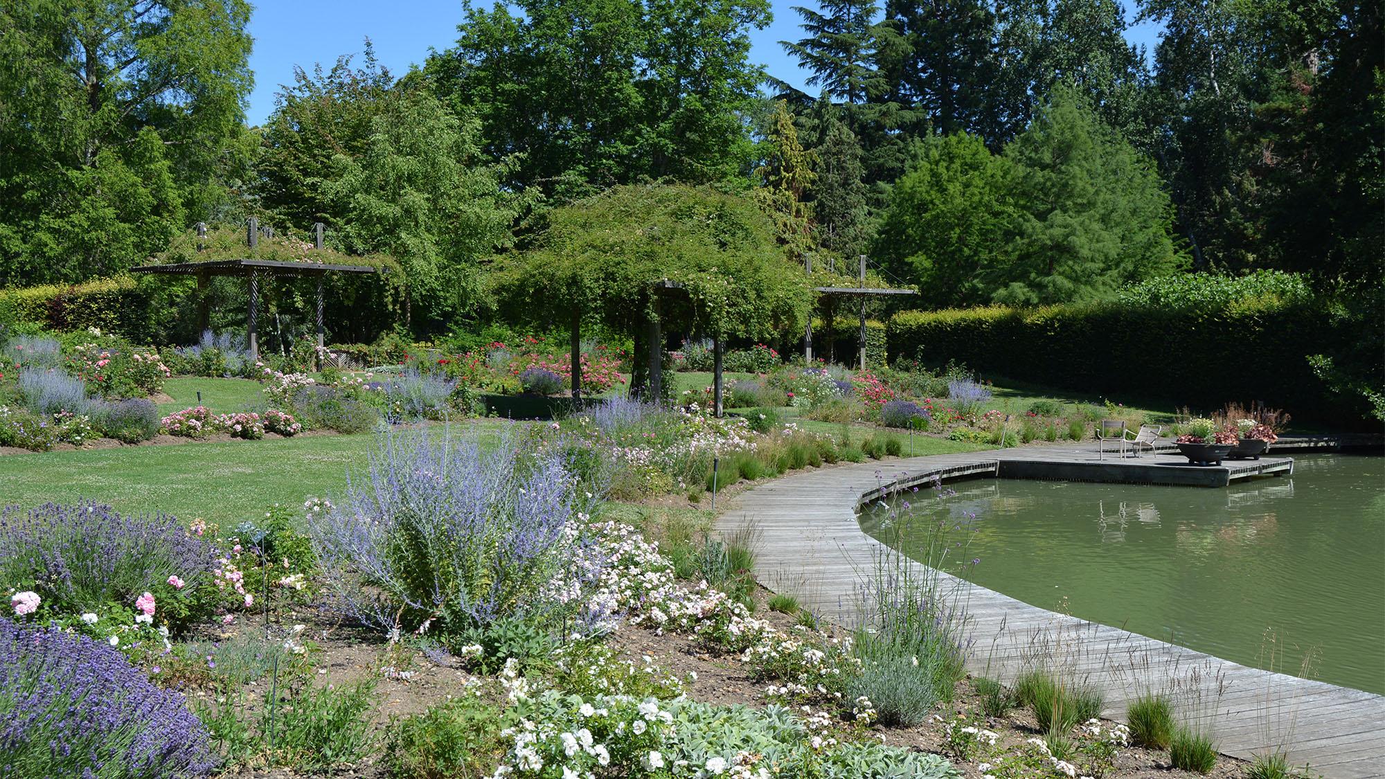 Parc Floral de la Source Orléans route de la rose loiret