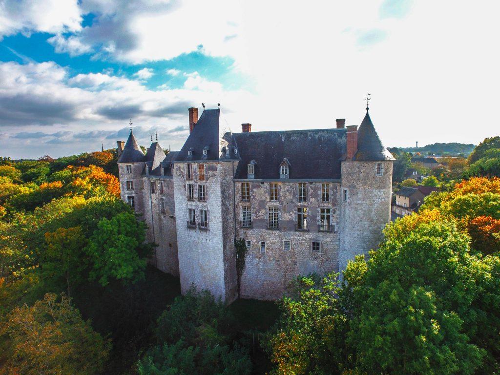 château saint brisson sur loire