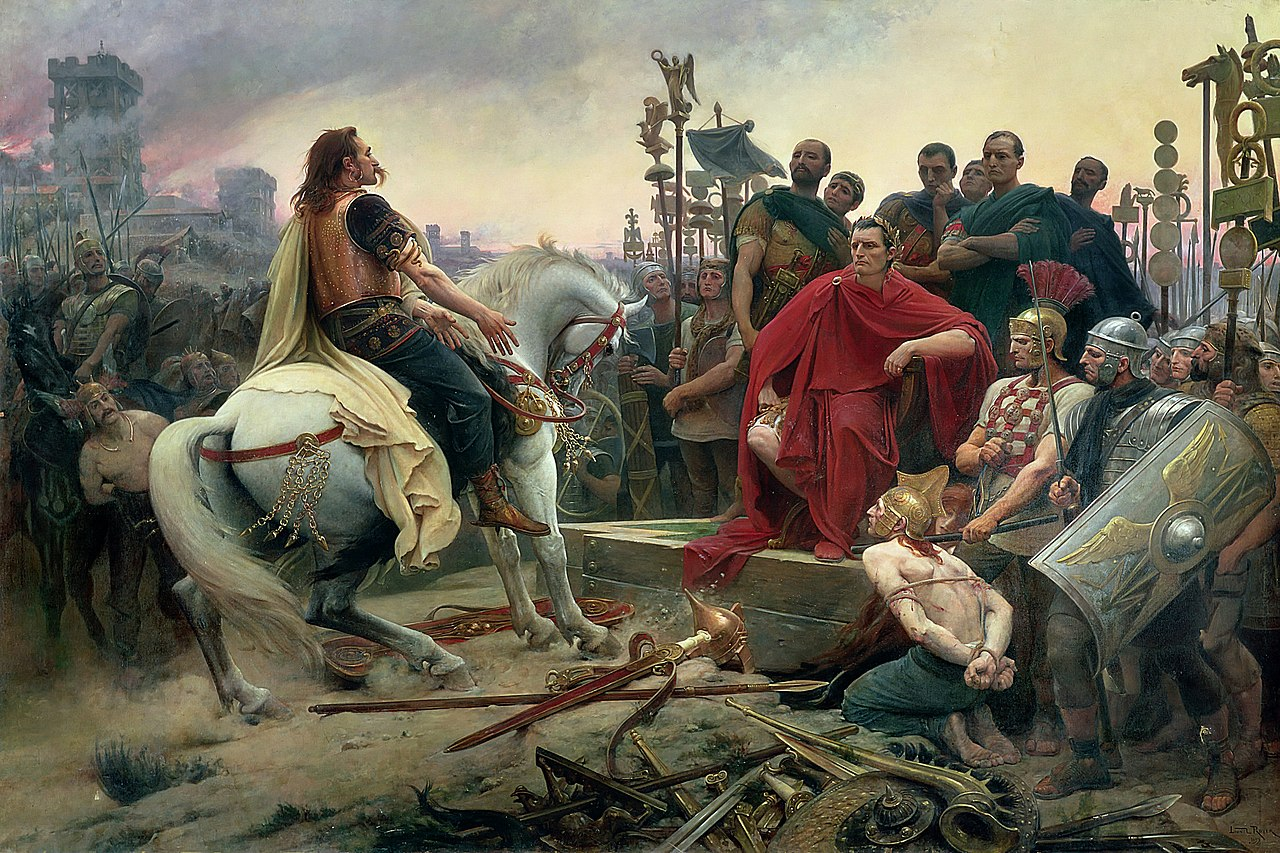 Vercingétorix défaite Alésia Jules César
