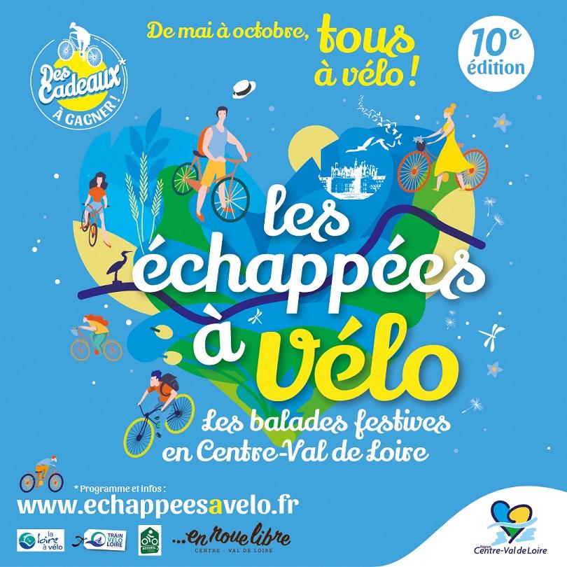 Échappées à Vélo en Centre-Val de Loire 2021