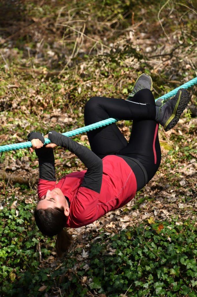 Parcours d'obstacles Loisirs Loire Valley - Traversée de corde