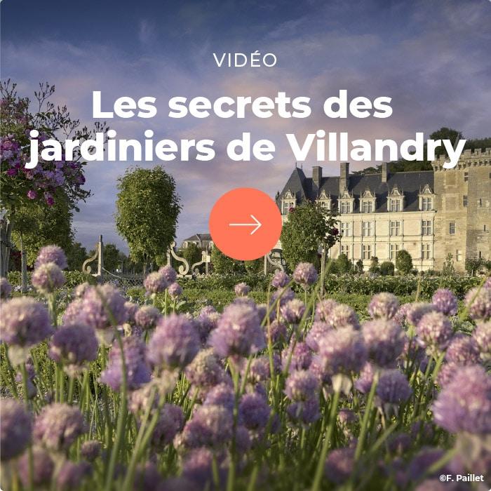 Secrets des jardiniers de Villandry - encart pub