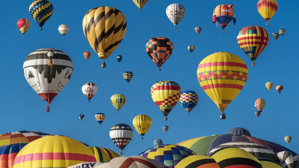 vol montgolfière loire