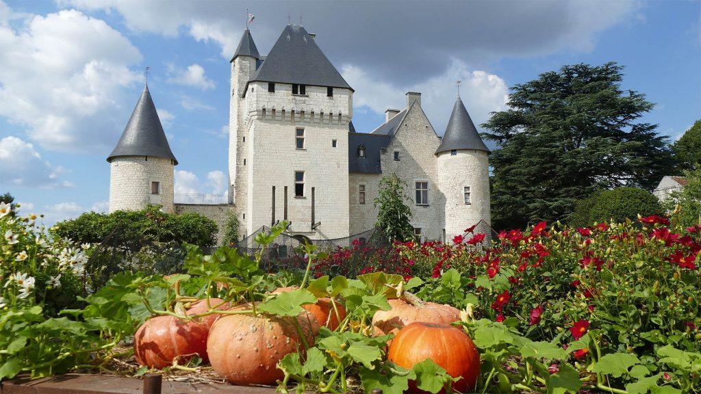 Château du Rivau en automne