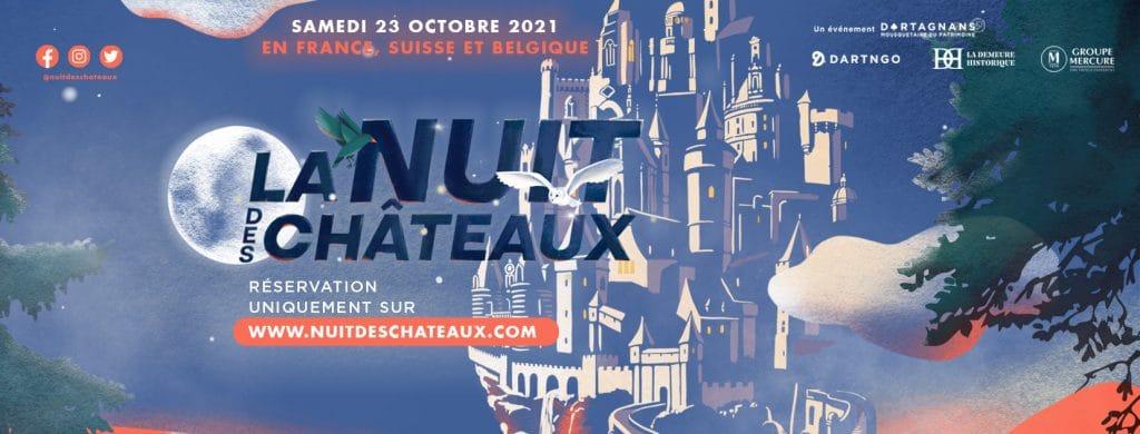 La Nuit des Châteaux, édition 2021