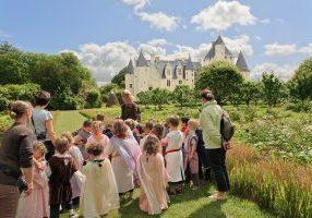 Château et jardins du Rivau en famille
